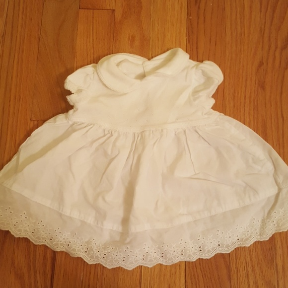 03954a3fc Carter's Dresses | Carters Newborn Eyelet White Dress | Poshmark